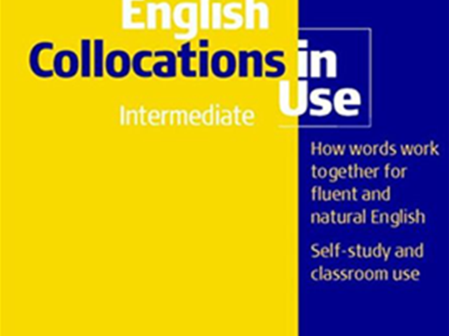 کتاب English Collocations In Use Intermediate