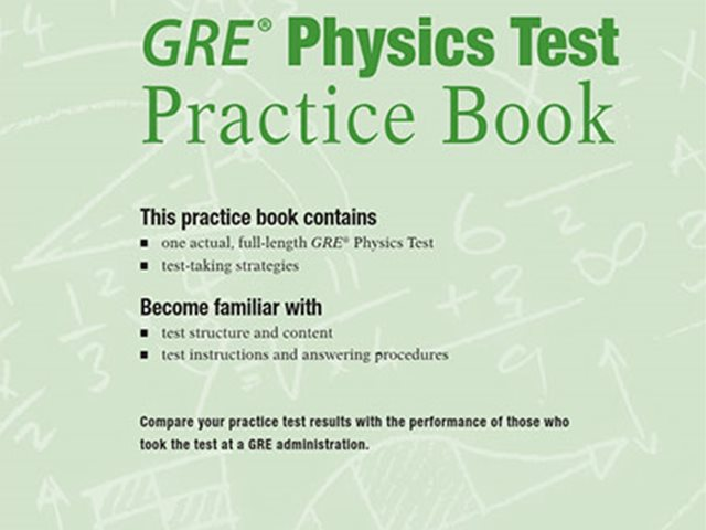 کتاب Practice Book GRE Physics Test