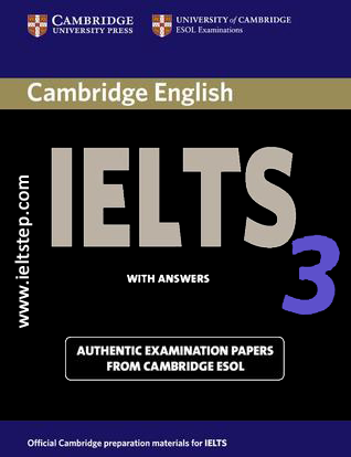 3 CAMBRIDGE PRACTICE TESTS FOR IELTS