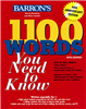 کتاب Barrons 1100 Word You Need to Know
