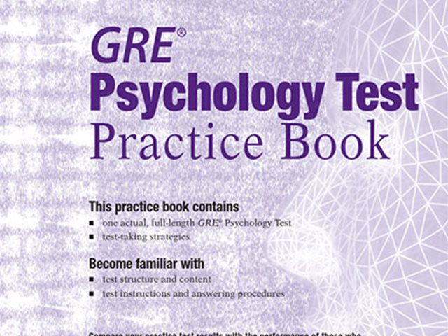 کتاب Practice Book GRE Psychology Test