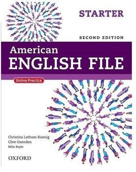 کتاب American File Starter|American English File Starter|کتا انگلیش فایل استارتر|کتاب انگلیش فایل بنفش|