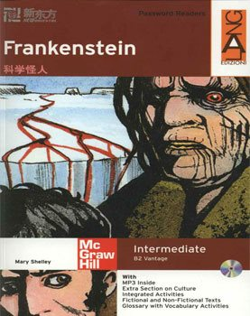 کتاب Mary Shelley Frankenstein - B2