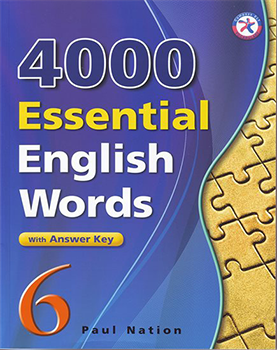 کتاب Paul Nation 4000 Essential English Words 6