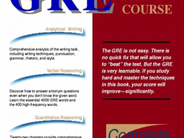 کتاب Nova Press Gre Prep Course