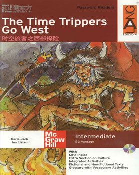 کتاب The Time Trippers Go West - B2