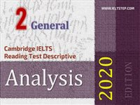 Cambridge IELTS Reading Test Descriptive Analysis 2 General