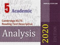 Cambridge IELTS Reading Test Descriptive Analysis 5