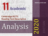 Cambridge IELTS Reading Test Descriptive Analysis 11