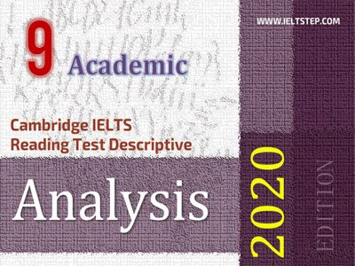 Cambridge IELTS Reading Test Descriptive Analysis 9