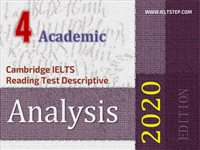 Cambridge IELTS Reading Test Descriptive Analysis 4