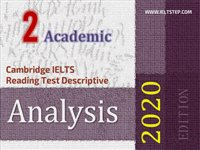 Cambridge IELTS Reading Test Descriptive Analysis 2