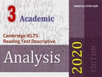 Cambridge IELTS Reading Test Descriptive Analysis 3