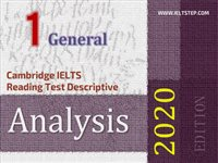 Cambridge IELTS Reading Test Descriptive Analysis 1 General