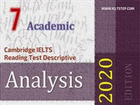 Cambridge IELTS Reading Test Descriptive Analysis 7