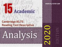 Cambridge IELTS Reading Test Descriptive Analysis 15