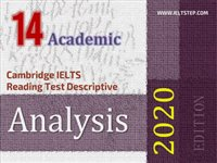 Cambridge IELTS Reading Test Descriptive Analysis 14