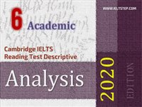 Cambridge IELTS Reading Test Descriptive Analysis 6