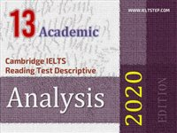 Cambridge IELTS Reading Test Descriptive Analysis 13
